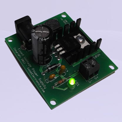 Fixed DC Power Supply Kit