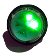 High Intesity Micro Rotating LED Flasher Green