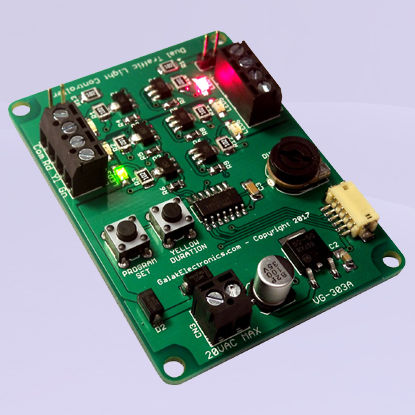 Dual Traffic Light Controller Kit